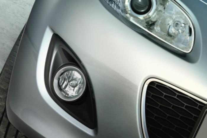 rahmen für nebelscheinwerfersatz schwarz | mazda mx-5 | autohaus