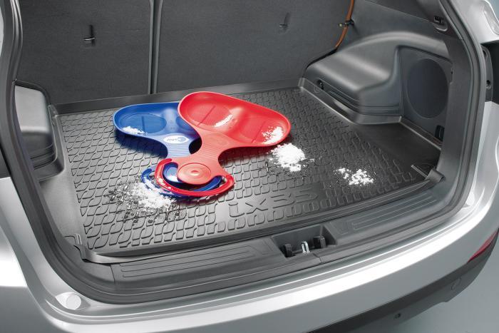Kofferraum Wanne Schale Matte für Hyundai i40 Limousine 2012